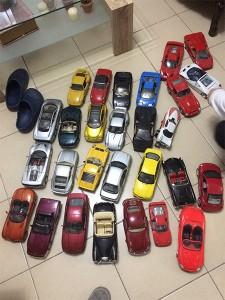 אוסף מכוניות צעצוע