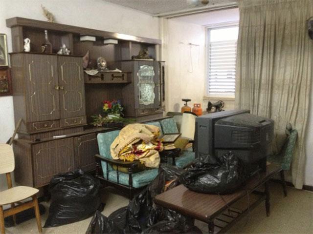 הקשיים מתחילים לאחר קבלת החלטה על פינוי הדירה/הבית